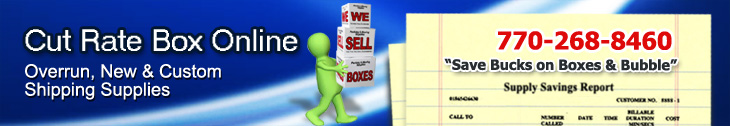 Boxes Atlanta, Georgia. Savings on cardboard, shipping and corrugated moving boxes